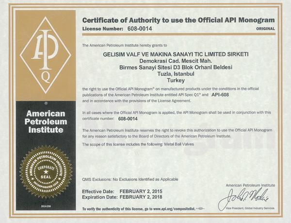 API-608-0014-Gelisim-Valf-Valve-Certificate